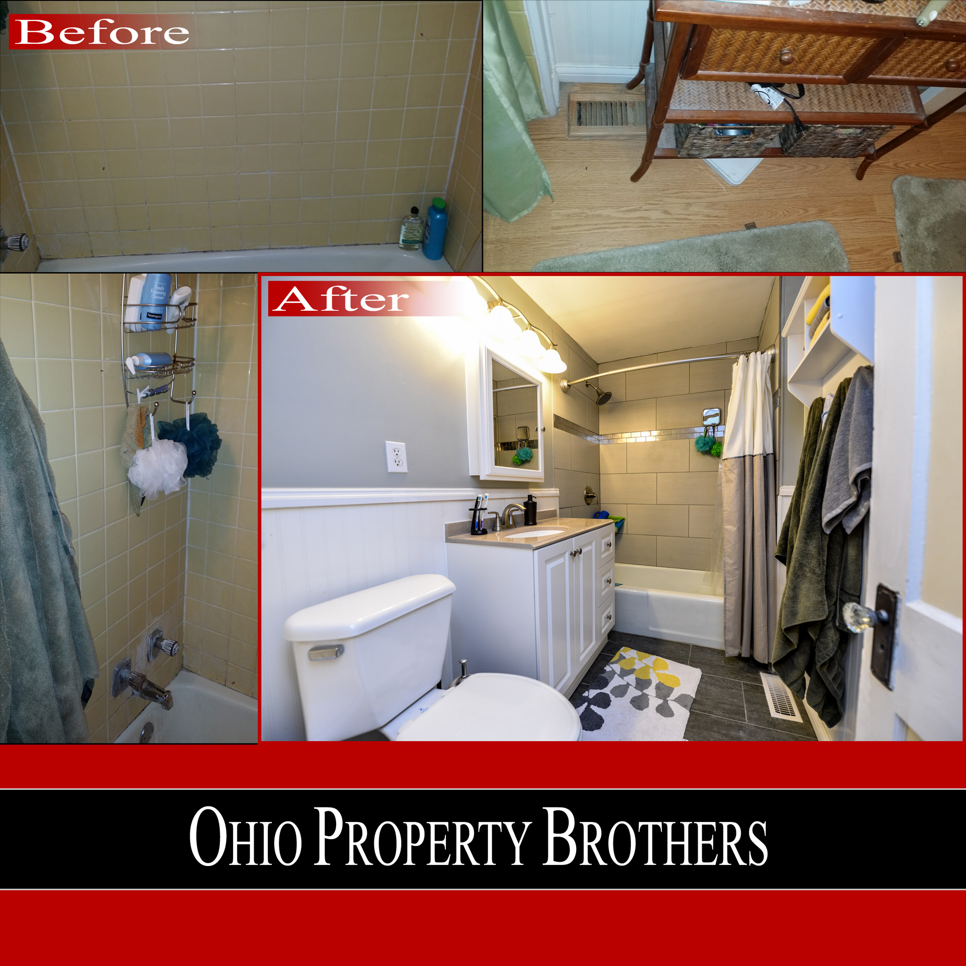Merion Village Bathroom Remodel Ohio Property Brothers