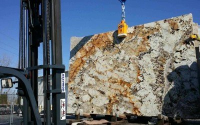 OPB Rock – 1st slab at the new shop