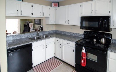 Kitchen countertop granite upgrade by Ohio Property Brothers Rock!