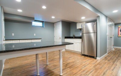 Complete basement makeover!  You have to see this!