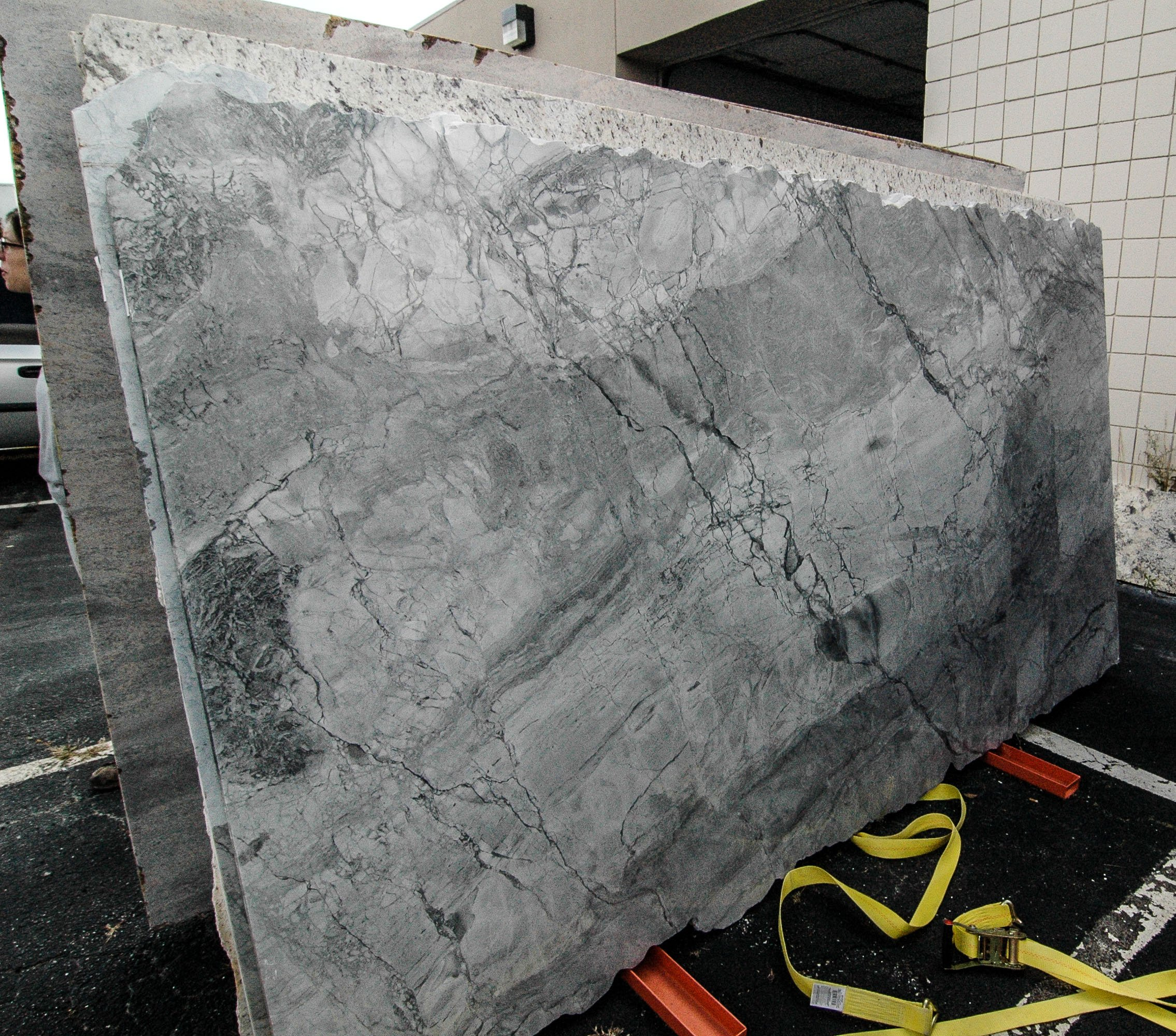 white granite delivered today to opb