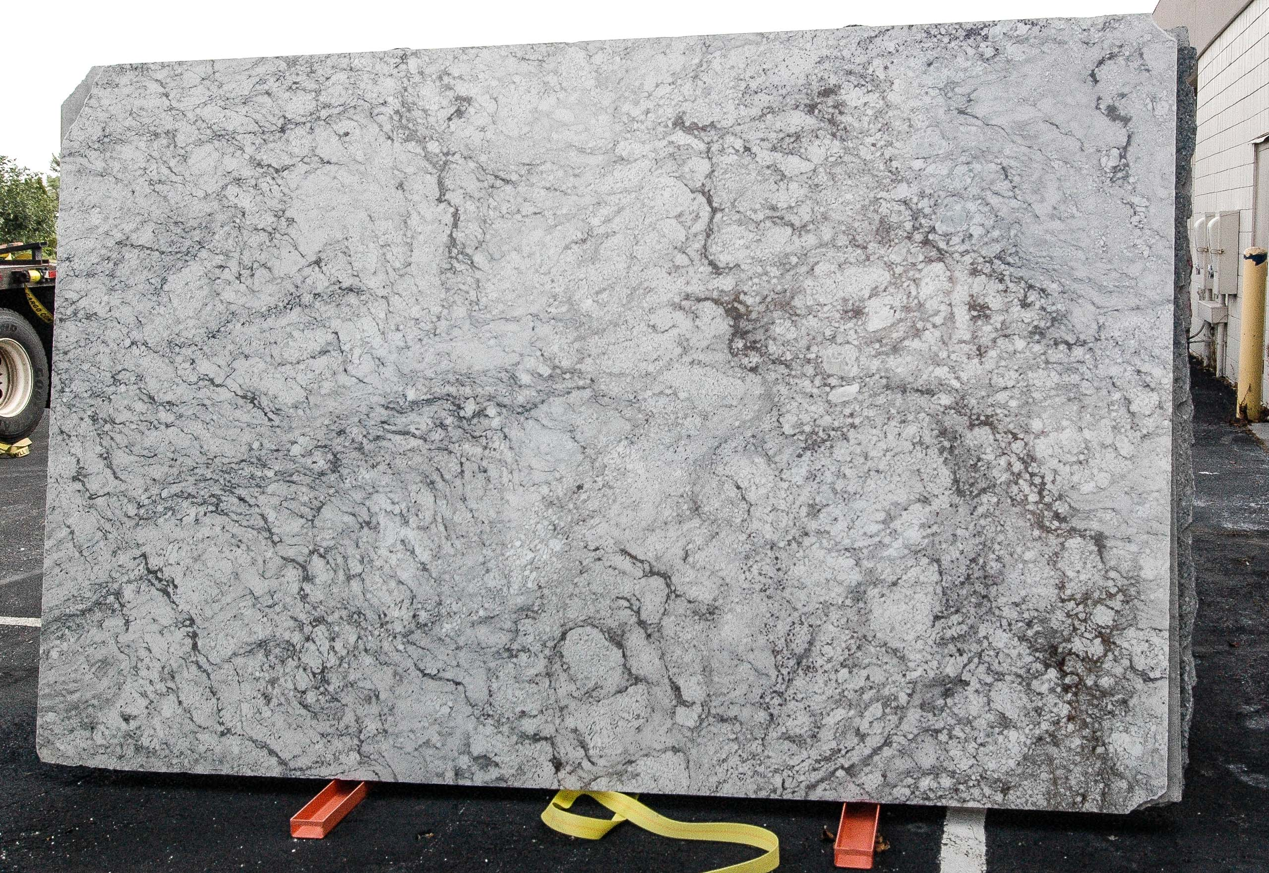 White Granite Delivered Today To Opb!  Ohio Property Brothers. Floating Shelves Ideas. Outdoor Kitchen With Green Egg. Galvanized Tub Sink. Modern Bedding Sets. Vanity Ikea. How To Make Your Own Wallpaper. German Shrunk. Chakra Beige Quartz