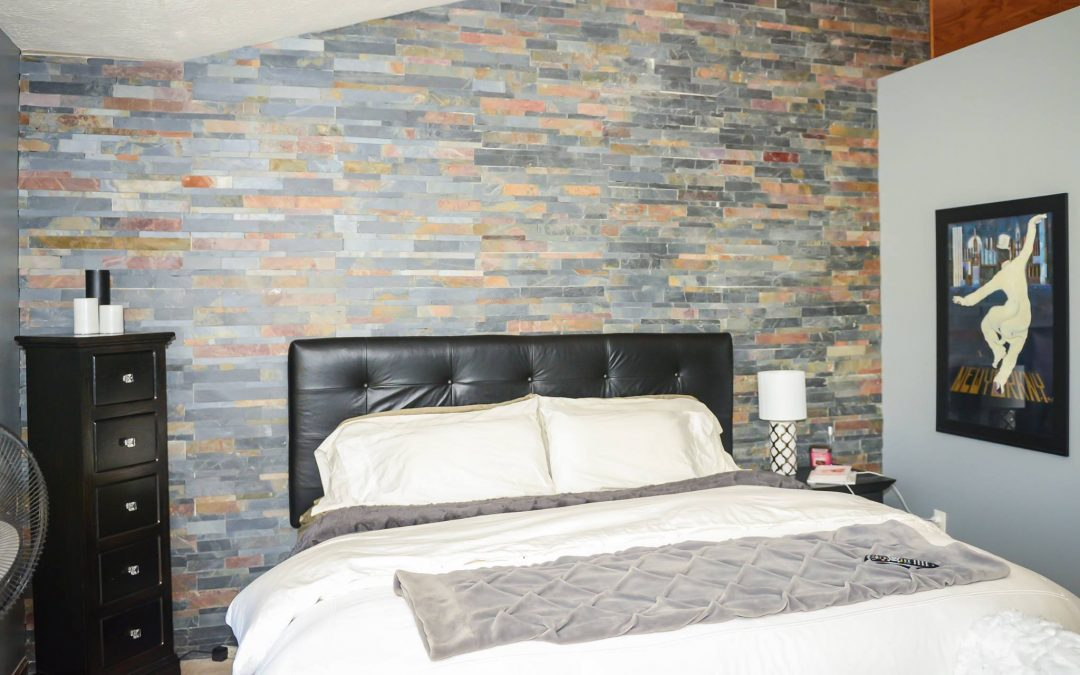 Unique accent walls - Ohio Property Brothers