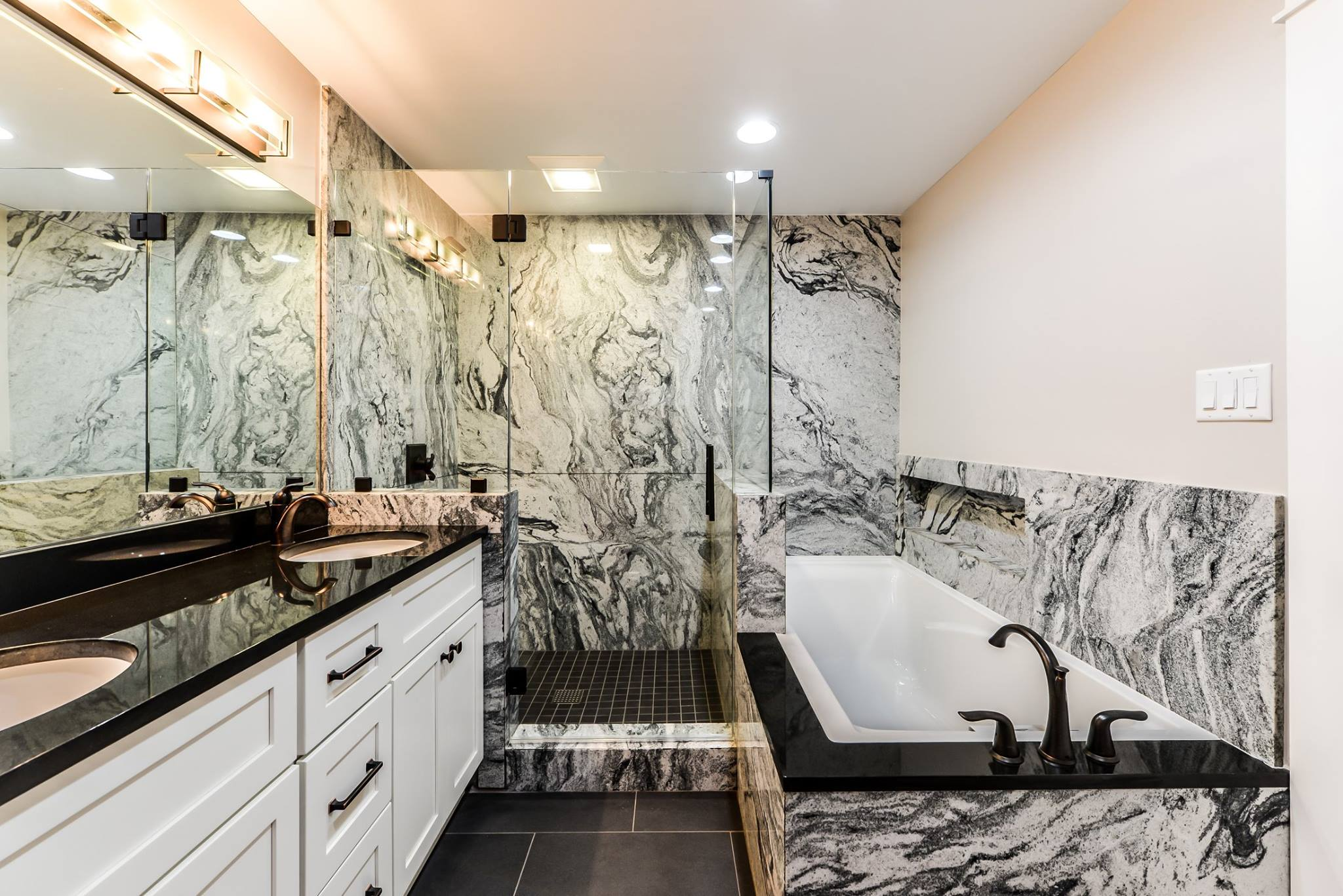 Granite In The Shower Ohio Property Brothers