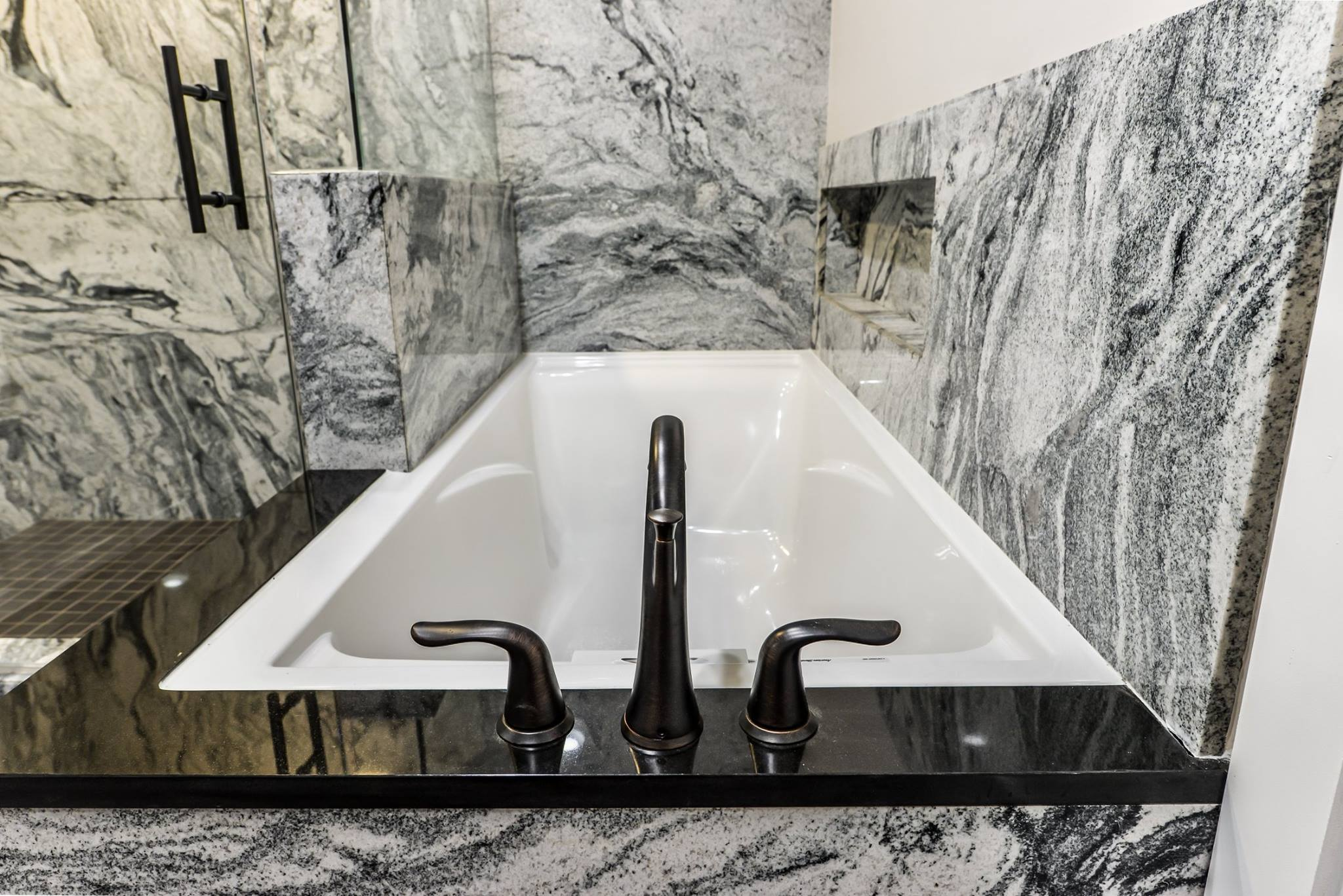 Granite Shower By Ohio Property Brothers 8