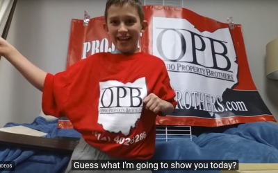 Owner's son makes priceless commercial in one take