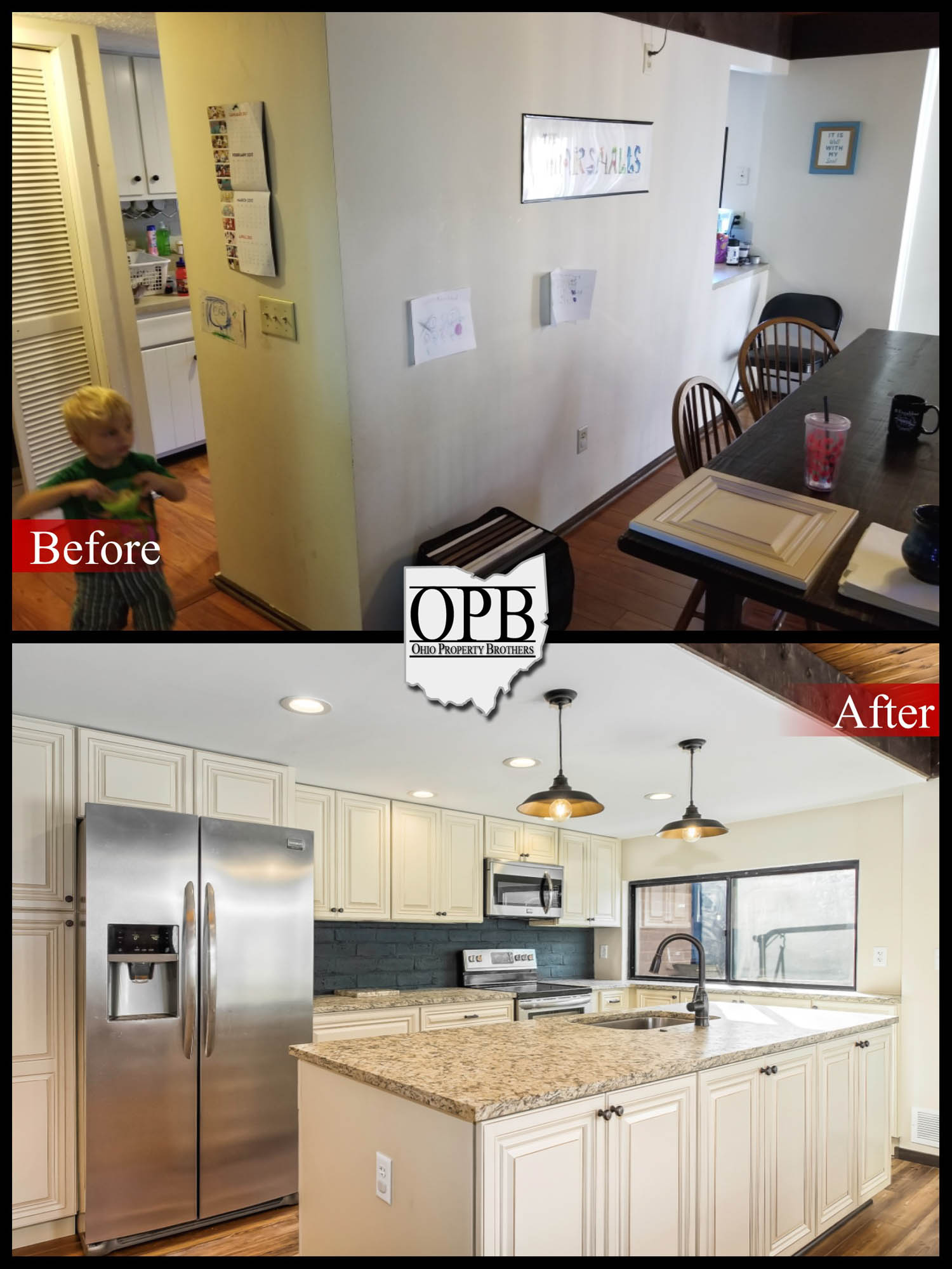 Clintonville Condo Ohio Property Brothers - Property brothers kitchen remodels