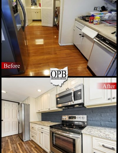 Grantie Cabinets and Kitchen Remodel by Ohio Property Brothers