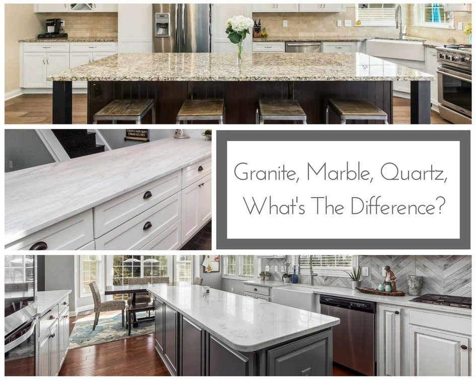 Granite Marble Quartz What S The Difference